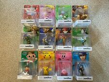 Super Smash Bros Amiibo Collection 1-77. Some carefully opened, most unopened!