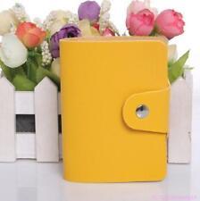 2 x NEW Leather Business ID Credit Card Holder Handbag Purse Storage Case Pocket