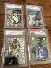 1998 RANDY MOSS ROOKIE LOT OF FOUR/ ULTRA BOWMAN BEST FLAIR