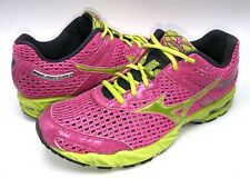 Mizuno Wave Precision 13  Running Shoes Women's Size US 10 M Pink / Yellow