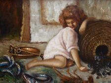 Fisher Girl artista italiano elencati G di Gennaro 1970,S spedizione gratuita Inghilterra