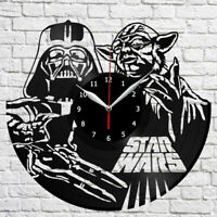 Star Wars Death Star Explosion Vinyl Record Wall Clock Fan Art Wanduhr 4099