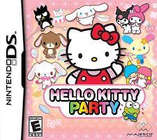 Hello Kitty Party (Nintendo DS, 2009)