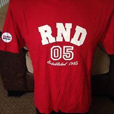 Rilievo Comico Naso Rosso Giorno da collezione Shirt/TShirt Rnd 05-Size Da Uomo Piccolo