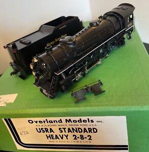 Overland Models Brass HO NKP/EX-W&LE Mikado Class M-1 2-8-2