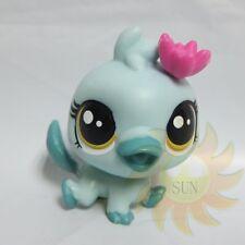 Littlest Pet Shop Animals LPS Figure Child Toys #3885 Platypus Orna Curley Bird