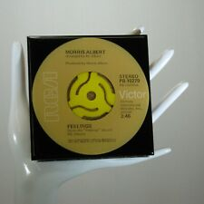 Morris Albert - Music Drink Coaster Made with The Original 45 rpm Record