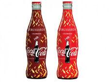 Coca Cola 2015 TRUSSARDI  2 bottiglie edizione da 250ml Sicilia Sibeg vetro coke