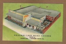 Downers Grove,IL Illinois, Original Last Word Chicken,Route 34 Ogden Ave. u-1953