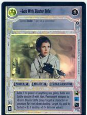 Star Wars CCG Reflections II Boxtopper Foil Leia With Blaster Rifle