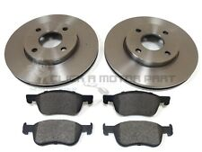 FORD FIESTA MK8 1.5 ST 2018-2020 FRONT 2 BRAKE DISCS AND PADS SET
