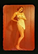Authentic Pinup Girl Korean War Slide 1953 From A Korean War Soldiers Collection