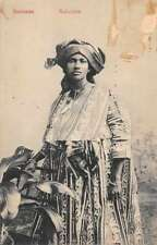 Suriname Mulattine Postal Used Antique Postcard J72613