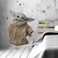 Star Wars The Mandalorian: Grogu The Child Giant Wall Decals Baby Yoda Stickers