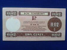 24. Poland - Bon towarowy Pekao 0,02$ - 1979