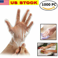 NEW 1000Pcs Plastic Work Gloves Kitchen Cooking Cleaning Restaurant Home Service