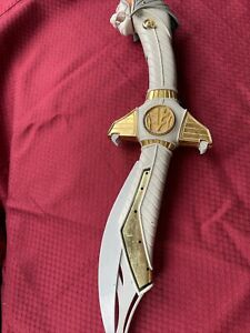 Vintage Bandai Power Rangers White Ranger Saba Sword