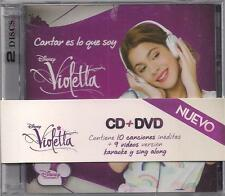 CD + DVD SET VIOLETTA CANTAR ES LO QUE SOY BRAND NEW SEALED LIVE 2012 DISNEY