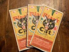 Vintage Black Cat Firecrackers