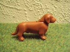 Playmobil dier hond roodbruine teckel (3727)