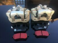 Mg tF Mgf Rear Brake Calipers with carriers & pads kit cars