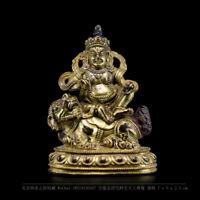 Tibetan buddhism white lion Jambhala buddha statue wealth god Vaisravana