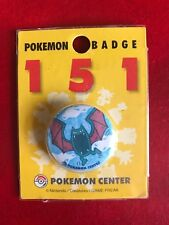 Pokemon Center 151 pin button badge new Japan #42 Golbat