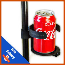 More details for drinks holder metal pint glass holder for microphone/mic stand live performance