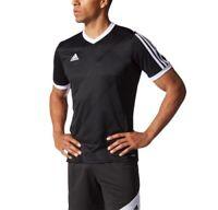 Nwt Men's Adidas tabela 14 Training Jersey Climacool. Size Medium & Black