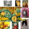 Buddha Collection DIY Paint by Numbers Kit Canvas Easy Painting Frame Unframed
