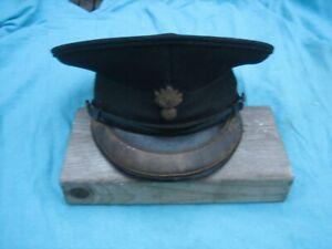 British Army WW2 Grenadier Guards Officers Peaked Cap Herbert Johnson Ceremonial