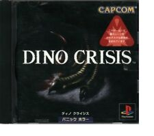 DINO CRISIS   PS1    PLAYSTATION 1  VERSIONE GIAPPONESE