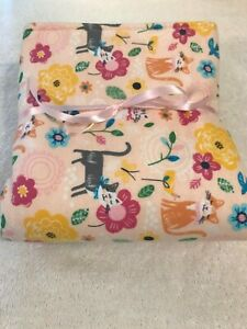 "Beautiful Handmade Cat Blanket-Sleeping Mat-Pad ( 20"" Wide x 35"" Long"