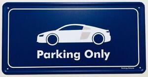 Parking Only - Audi R8 MK2 - Aluminiumschild