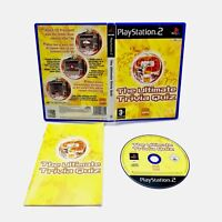 Sony Playstation 2 Video game The Ultimate Trivia Quiz PS2  Complete Unused