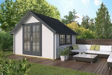 28mm Gartenhaus 350x300 cm Blockhaus Holzhaus Schuppen Gerätehaus Holz Holzhütte