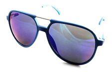 Calvin Klein Jeans Sunglasses CKJ 402S 401 59-15-140 Teal / Mirrored Smoke Lens