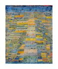 Paul Klee Reproduction: Highways and Byways Giclee Canvas Print