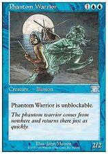 Phantom Warrior X4 EX/NM Classic 6th Edition MTG Magic Cards Blue Uncommon
