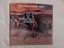 "38 SPECIAL ""YOU KEEP RUNNIN' AWAY"" PICTURE SLEEVE! NEW! ONLY NEW COPY ON eBAY!!"