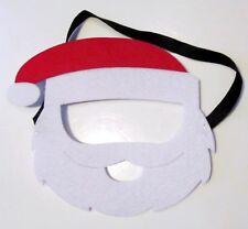 Kids Santa Felt Mask- Adjustable Christmas Xmas Face Mask Fancy Dress Up Fun
