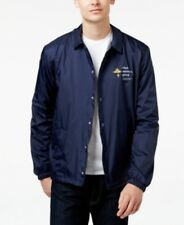 LRG Lifted Research Group Old Tree Coach Jacket Navy Mens Size 2XL New