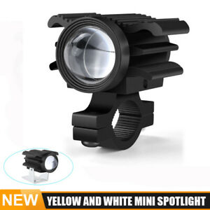 2in LED Work Light Bar Yellow White Spot Driving Pods SUV Offroad Truck 4x4WD