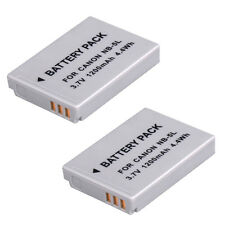 2 x New Battery for Canon NB-5L Powershot SX200 IS SX210 IS SX220 HS SX230 UK