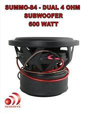 8 Inch Car Audio Subwoofer Dual Voice Coil 4 Ohm 600W Massive Summo 84