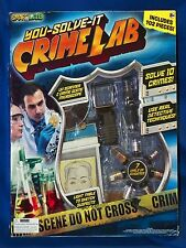 NEW Smart Lab You Solve It Forensic Science Crime Law Enforcement Lab 102 Pieces