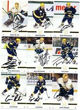2019-20 NOTRE DAME HOCKEY AUTO TEAM SIGNED TRADING CARD SET! RARE! LESS THAN 500