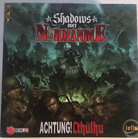 Iello Shadows Over Normandie Expansion Board Game Devil Pig Achtung! Cthulhu