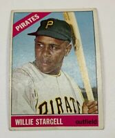 1966 Topps # 255 Willie Stargell Baseball Card Pittsburgh Pirates HOF