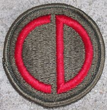 New Dealer Lot of Twenty 85th Infantry Division Patches, Sew-On, Full Color